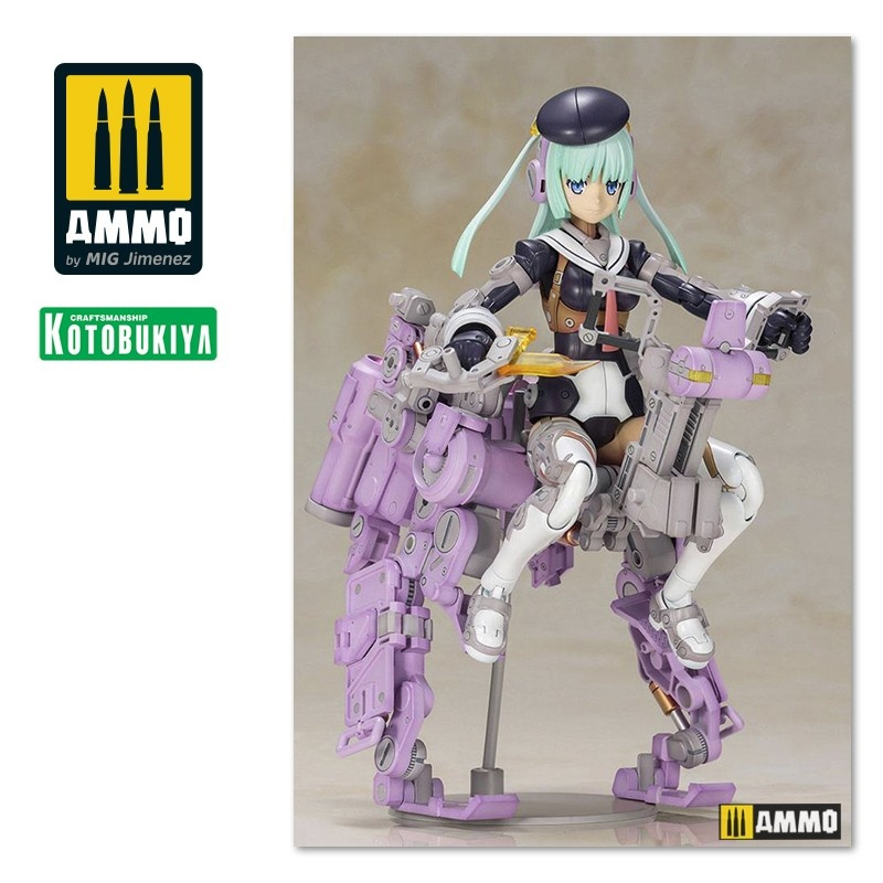 Kotobukiya Frame Arms Girl Plastic Model Kit Greifen Ultramarine Violet Version - 150mm - Kotobukiya - KTOFG077