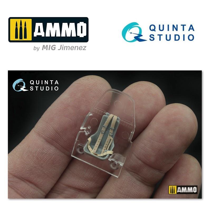 Quinta Studio IL-2 3D-Printed & coloured Interior on decal paper - Scale 1/48 - Quinta Studio - QD48020