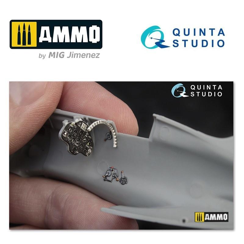 Quinta Studio I-16 type 10 3D-Printed & coloured Interior on decal paper - Scale 1/48 - Quinta Studio - QD48022