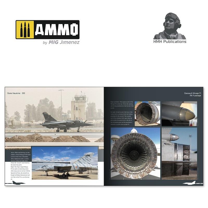 Ammo by Mig Jimenez Aircraft in Detail - Dassault Mirage F1 - DH-010