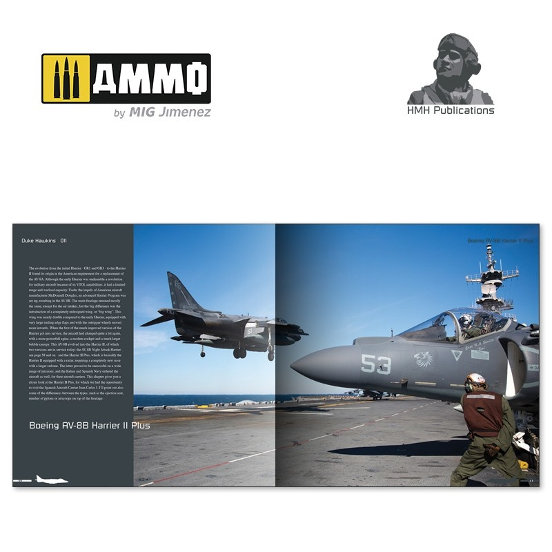 Ammo by Mig Jimenez Aircraft in Detail - BAE Systems Harrier II - DH-011