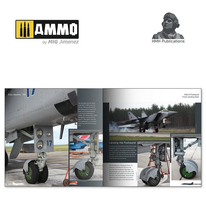 Ammo by Mig Jimenez Aircraft in Detail - MiG-31 Foxhound - DH-012