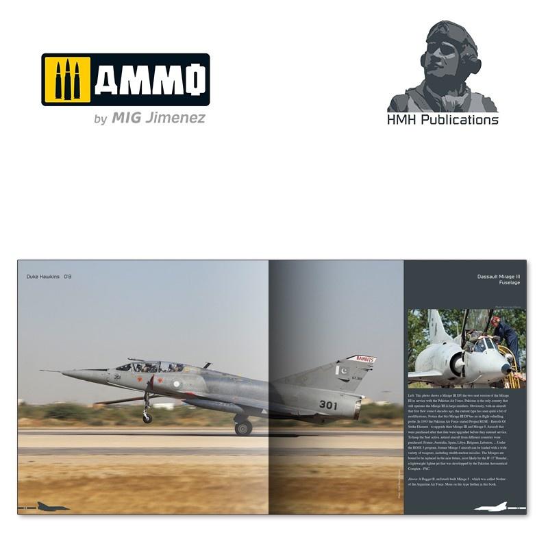 Ammo by Mig Jimenez Aircraft in Detail - Dassault Mirage III/5/50 - DH-013