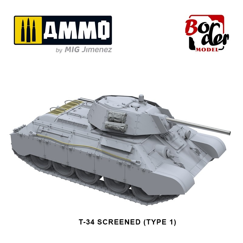 Border Models Limited Edition T-34E & T-34/76 (Factory 112) - 2 In 1 - Scale 1/35 - Border Models - BT009