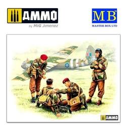 British paratroopers, 1944. Kit 2 - Scale 1/35 - Master Box Ltd - MBLTD3534