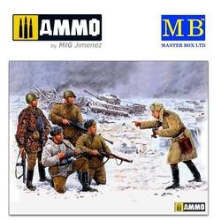 Russian Infantry. Korsun-Shevchenkovskiy, 1944 - Scale 1/35 - Master Box Ltd - MBLTD3529