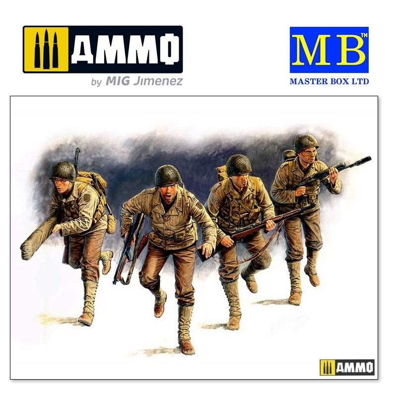 Master Box Ltd D-Day, 6th June 1944   - Scale 1/35 - Master Box Ltd - MBLTD3520