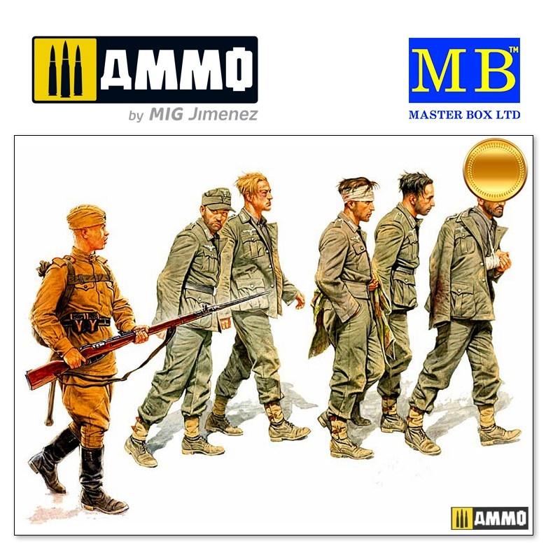 Master Box Ltd German Captives, 1944 - Scale 1/35 - Master Box Ltd - MBLTD3517