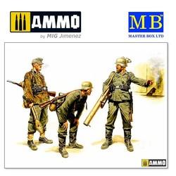 German Tank Hunters, 1944 - Scale 1/35 - Master Box Ltd - MBLTD3515