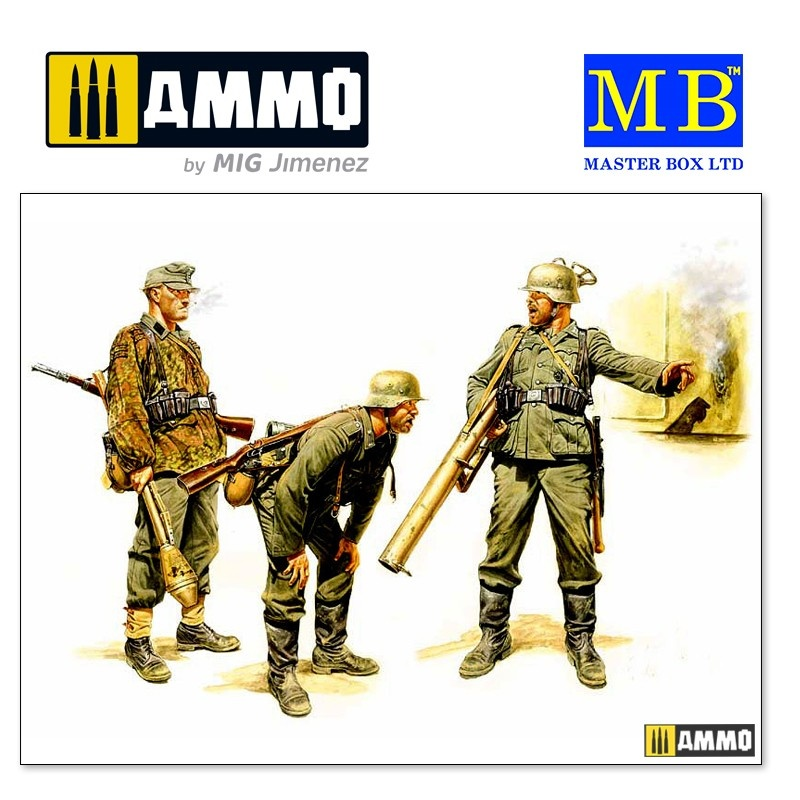 Master Box Ltd German Tank Hunters, 1944 - Scale 1/35 - Master Box Ltd - MBLTD3515