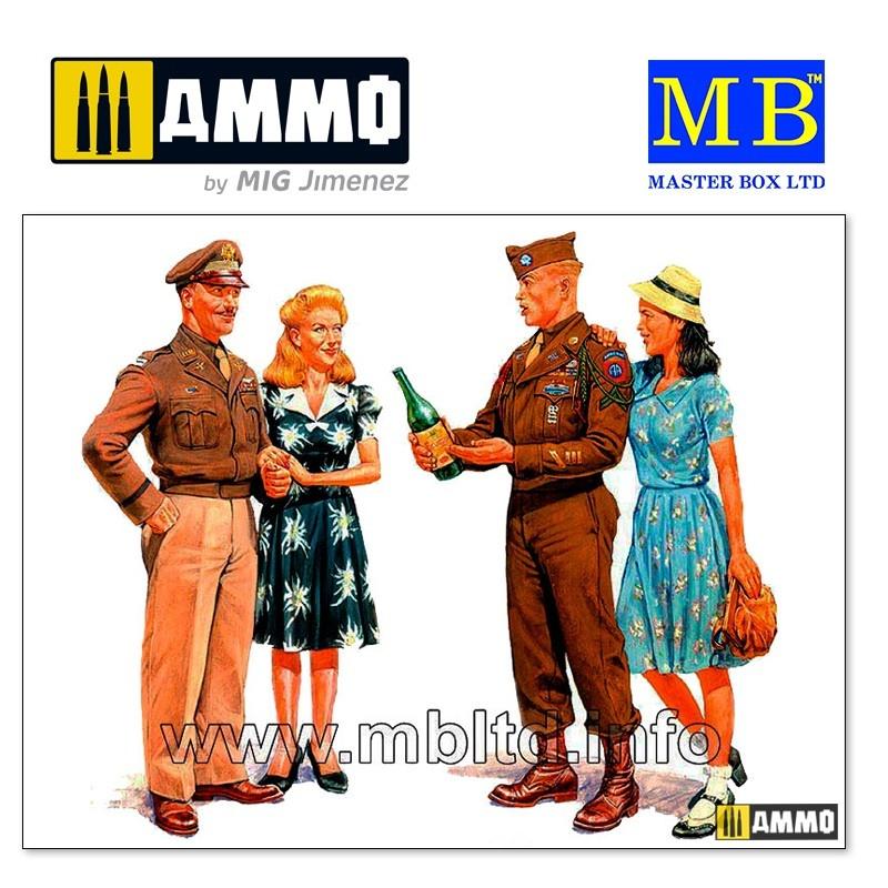 Master Box Ltd Europe, 1945 - Scale 1/35 - Master Box Ltd - MBLTD3514