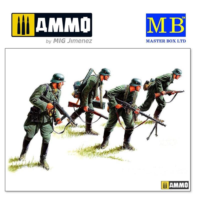 Master Box Ltd German panzergrenadiers, 1939-1942 - Scale 1/35 - Master Box Ltd - MBLTD3513