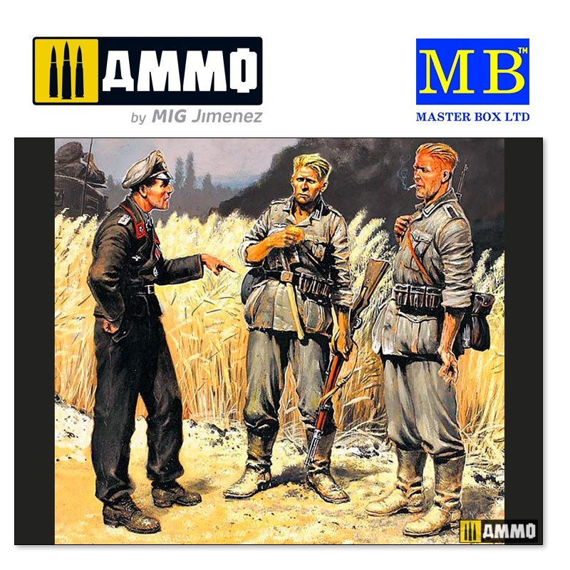 Master Box Ltd German military men (1939-1942) - Scale 1/35 - Master Box Ltd - MBLTD3510