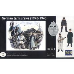 German tank crew (1943-1945) Kit No2  - Scale 1/35 - Master Box Ltd - MBLTD3508