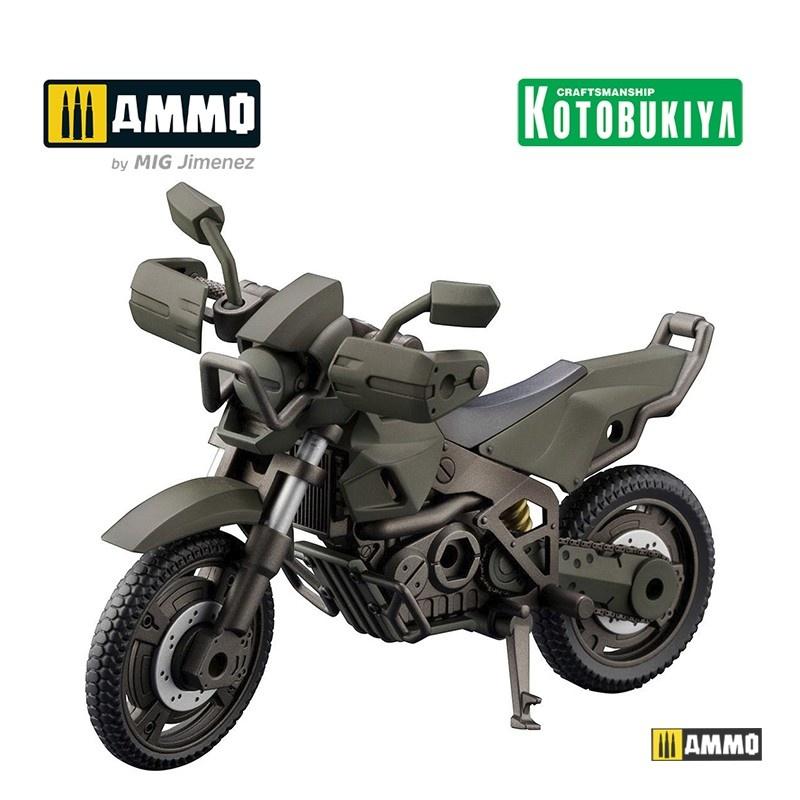 Kotobukiya Hexa Gear Alternative Plastic Model Kit - Cross Raider Forest Color - Scale 1/24 - Kotobukiya - KTOHG051