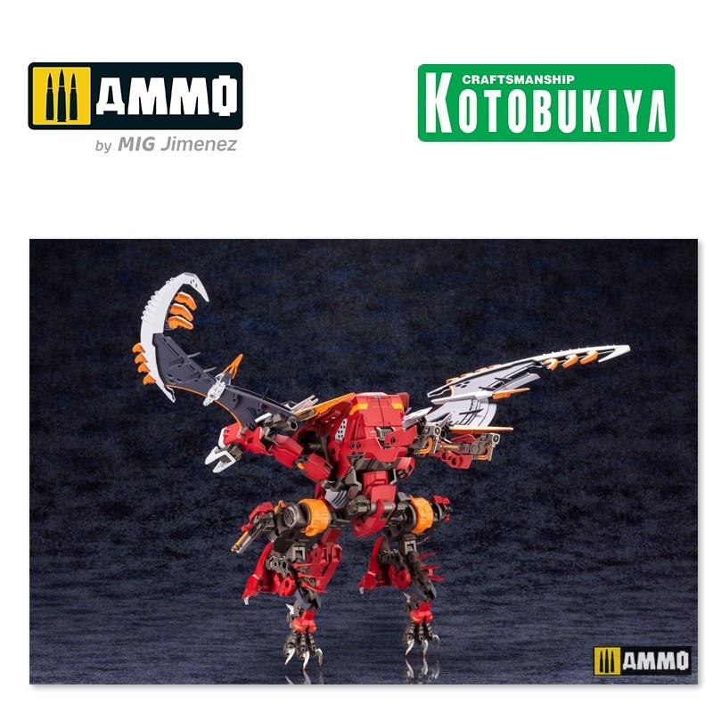 Kotobukiya Hexa Gear Plastic Model Kit - Bulkarm Glanz Redalert - Scale 1/24 - Kotobukiya - KTOHG048