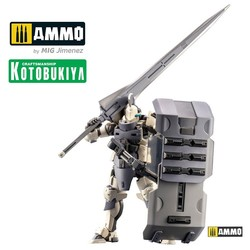 Hexa Gear Plastic Model Kit - Governor Armor Type Knight Bianco - Scale 1/24 - Kotobukiya - KTOHG045