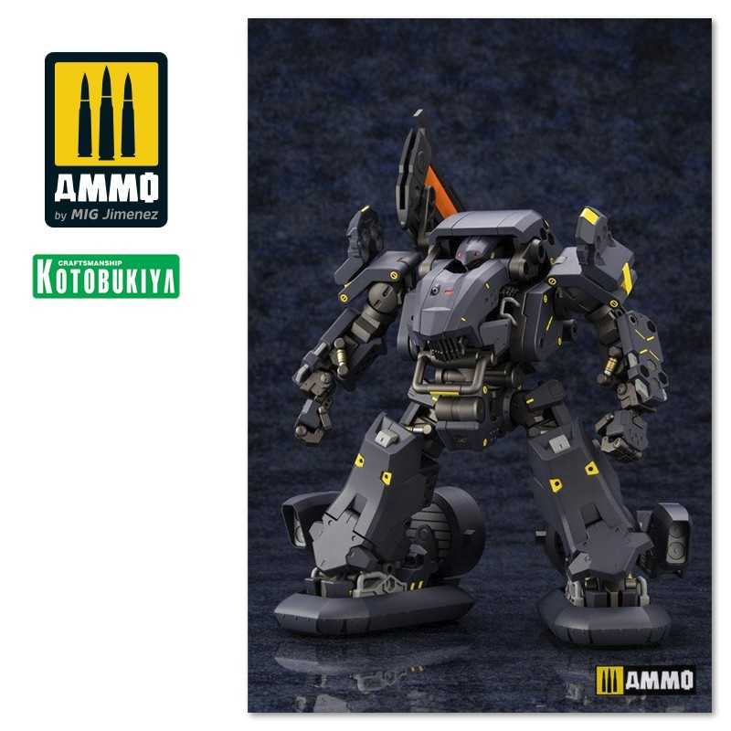 Kotobukiya Hexa Gear Plastic Model Kit - Bulkarm (Beta) Lumberjack - Scale 1/24 - Kotobukiya - KTOHG043