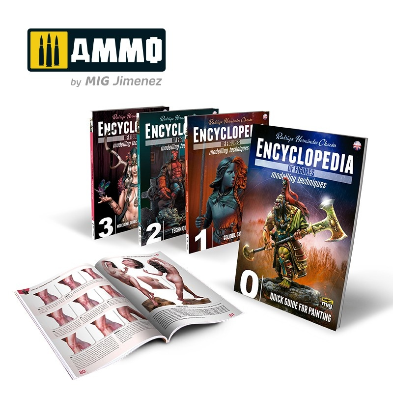 Ammo by Mig Jimenez Complete Encyclopedia Of Figures Modelling Techniques English - Ammo by Mig Jimenez - A.MIG-6219