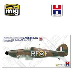 Hurricane Mk.IA – 303 Sqn RAF  - Scale 1/72 - Hobby 2000 - H2K72001