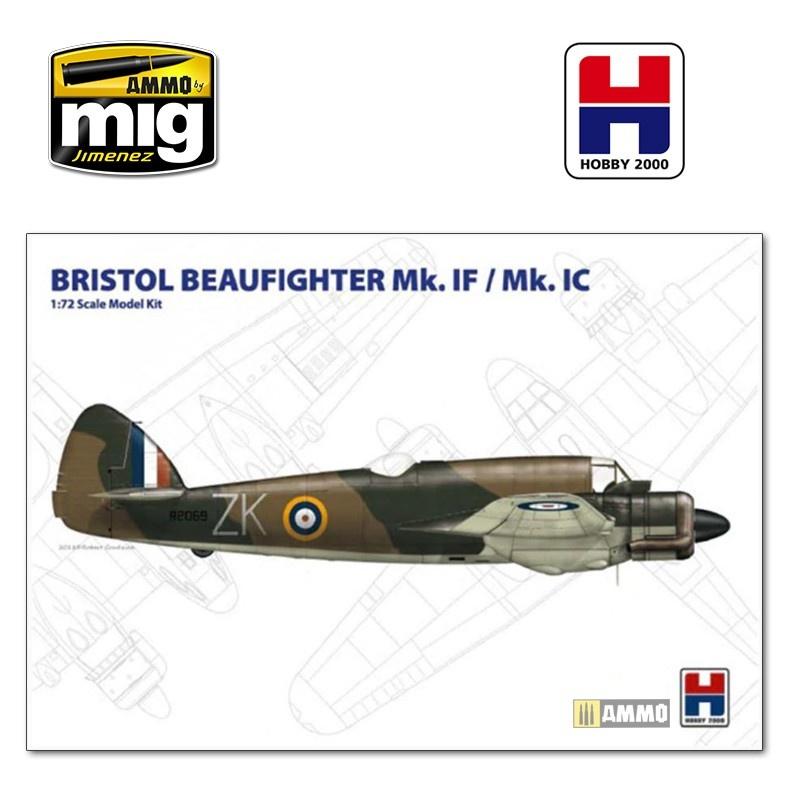 Hobby 2000 Beaufighter Mk. IF/IC - Scale 1/72 - Hobby 2000 - H2K72002