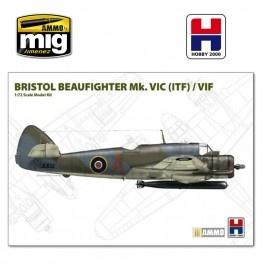 Hobby 2000 Beaufighter Mk. VIC ( ITF ) / VIF - Scale 1/72 - Hobby 2000 - H2K72004