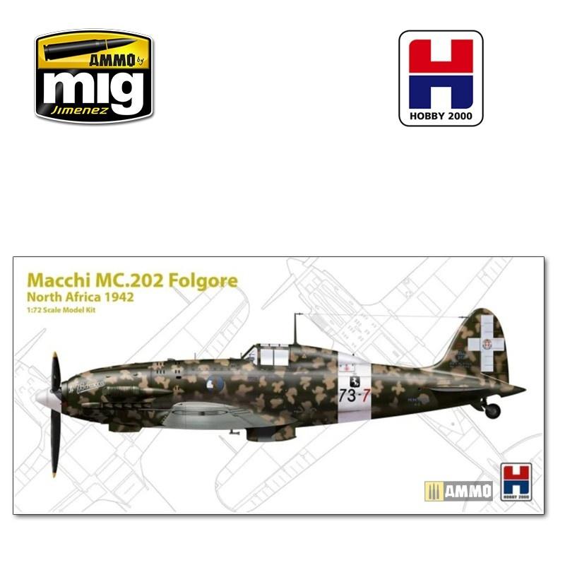 Hobby 2000 Macchi MC.202 North Africa - Scale 1/72 - Hobby 2000 - H2K72006
