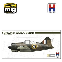 Brewster Model 339B/C Buffalo - Scale 1/72 - Hobby 2000 - H2K72012
