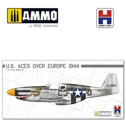 P-51B Mustang US Aces over Europe - Scale 1/72 - Hobby 2000 - H2K72024