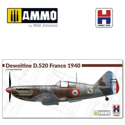 Dewoitine D.520 France 1940 - Scale 1/72 - Hobby 2000 - H2K72025