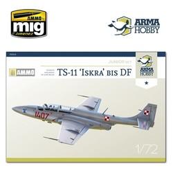 TS-11 Iskra Model Kit - Scale 1/72 - Arma Hobby - AH70004