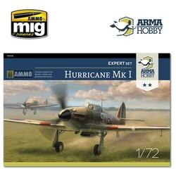 Hurricane Mk I Expert Set - Scale 1/72 - Arma Hobby - AH70019