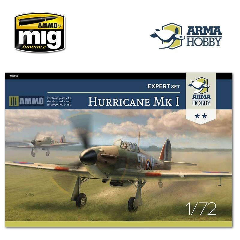 Arma Hobby Hurricane Mk I Expert Set - Scale 1/72 - Arma Hobby - AH70019