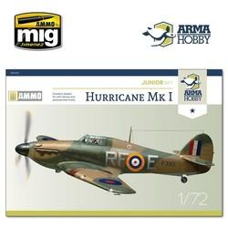 Hurricane Mk I Model Kit - Scale 1/72 - Arma Hobby - AH70020