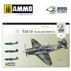 Yak-1b Allied Service Limited Edition - Scale 1/72 - Arma Hobby - AH70029