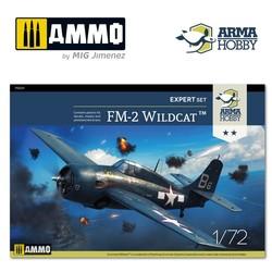 FM-2 Wildcat™ Expert Set - Scale 1/72 - Arma Hobby - AH70031