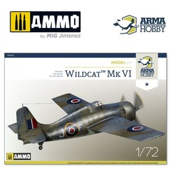 FM-2 Wildcat™ Mk VI Model Kit - Scale 1/72 - Arma Hobby - AH70032