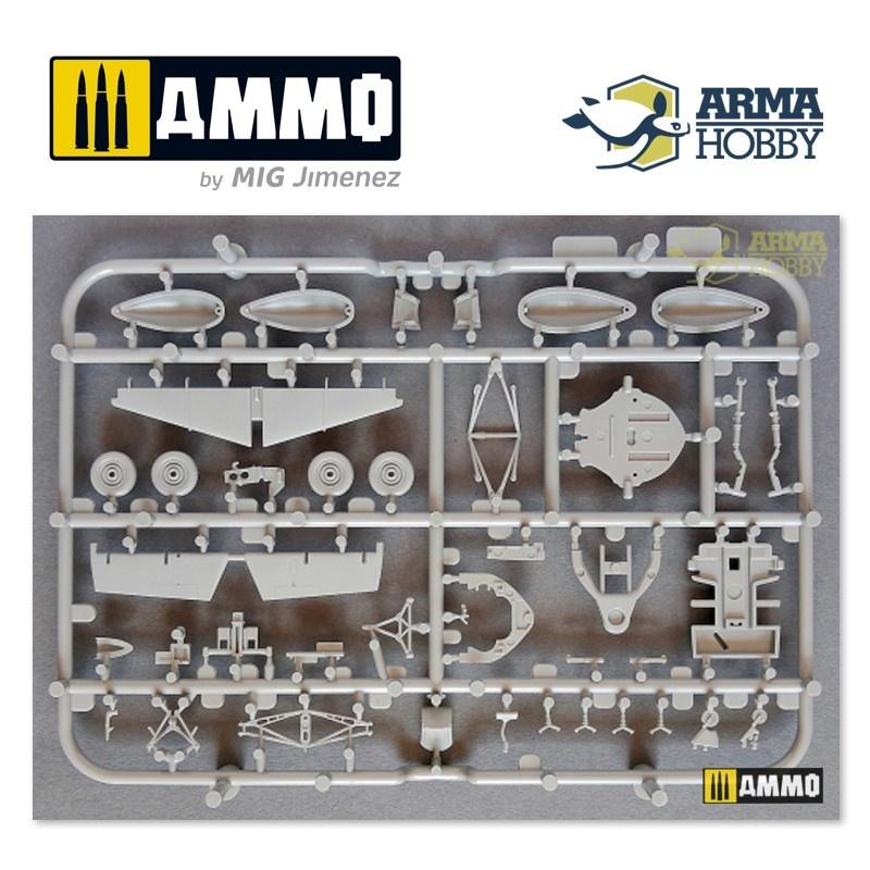 Arma Hobby FM-2 Wildcat™ Mk VI Model Kit - Scale 1/72 - Arma Hobby - AH70032