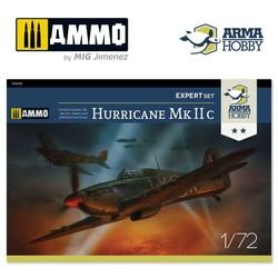 Hurricane Mk IIc Expert Set - Scale 1/72 - Arma Hobby - AH70035