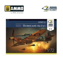 Hurricane Mk IIb/c Expert Set - Scale 1/72 - Arma Hobby - AH70042