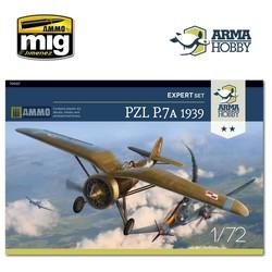 PZL P.7a Expert Set 1939 - Scale 1/72 - Arma Hobby - AH70007