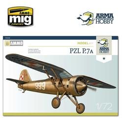 PZL P.7a Model Kit - Scale 1/72 - Arma Hobby - AH70008