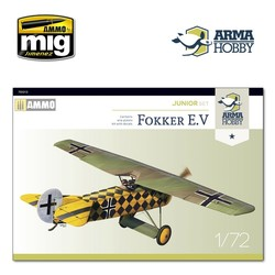 Fokker E.V Junior set - Scale 1/72 - Arma Hobby - AH70013