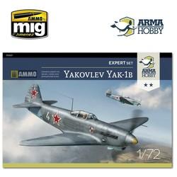 Yakovlev Yak-1b Expert Set - Scale 1/72 - Arma Hobby - AH70027
