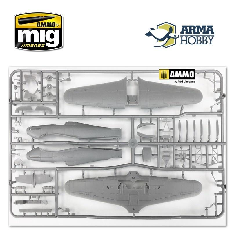 Arma Hobby Hurricane Mk I Trop Model Kit - Scale 1/72 - Arma Hobby - AH70021