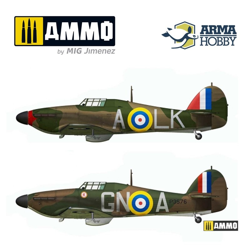 Arma Hobby Hurricane Mk I Battle of Britain Limited Edition - Scale 1/72 - Arma Hobby - AH70023
