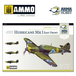 Hurricane Mk I Eastern Front Limited Edition - Scale 1/72 - Arma Hobby - AH70025