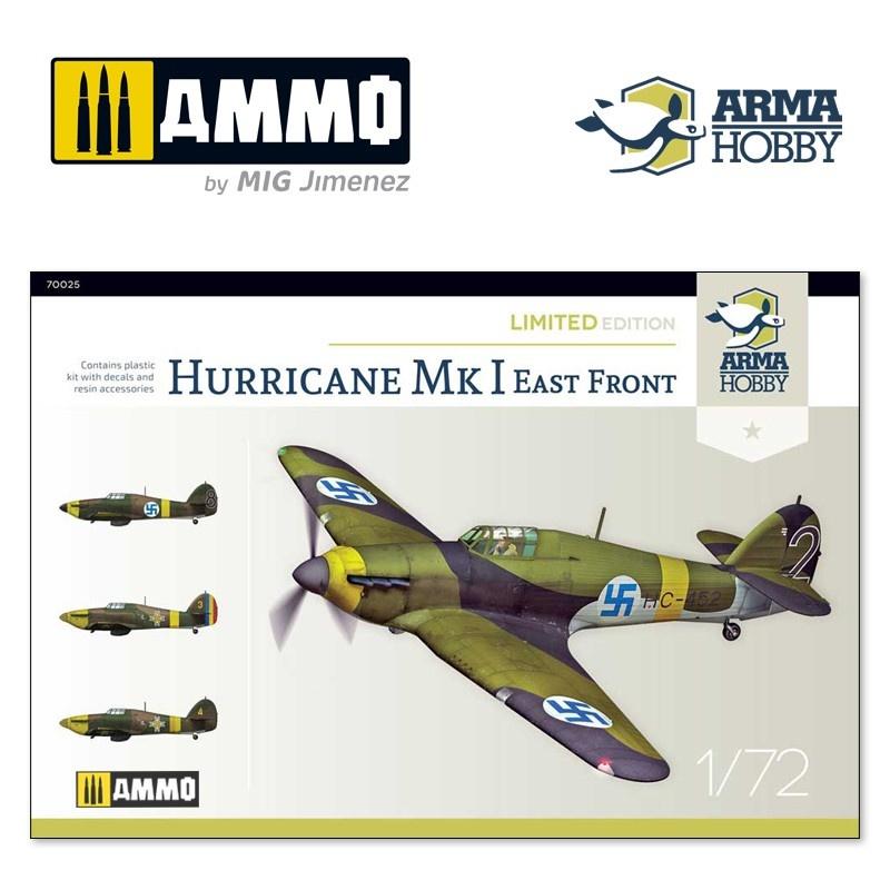 Arma Hobby Hurricane Mk I Eastern Front Limited Edition - Scale 1/72 - Arma Hobby - AH70025