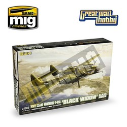 WWII USAAF Northrop P-61A 'Black Widow' Glass Nose - Scale 1/48 - Great Wall Hobby - GWH04806