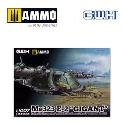 """WWII Luftwaffe Messerschmitt Me 323 E-2 """"Gigant"""" /s AFVs - Scale 1/144 - Great Wall Hobby - GWH01007"""